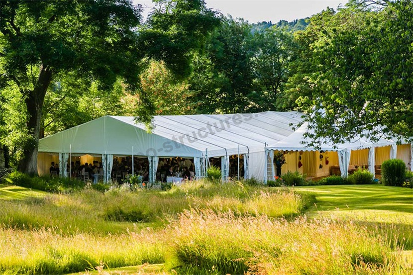 20x40m marquee tent for wedding to hold 500 guest