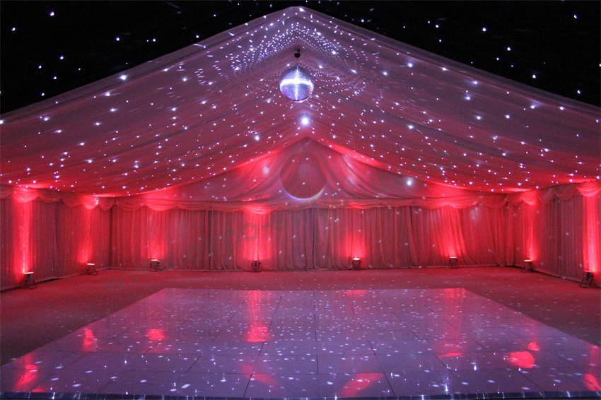 Party Tent with LED lights