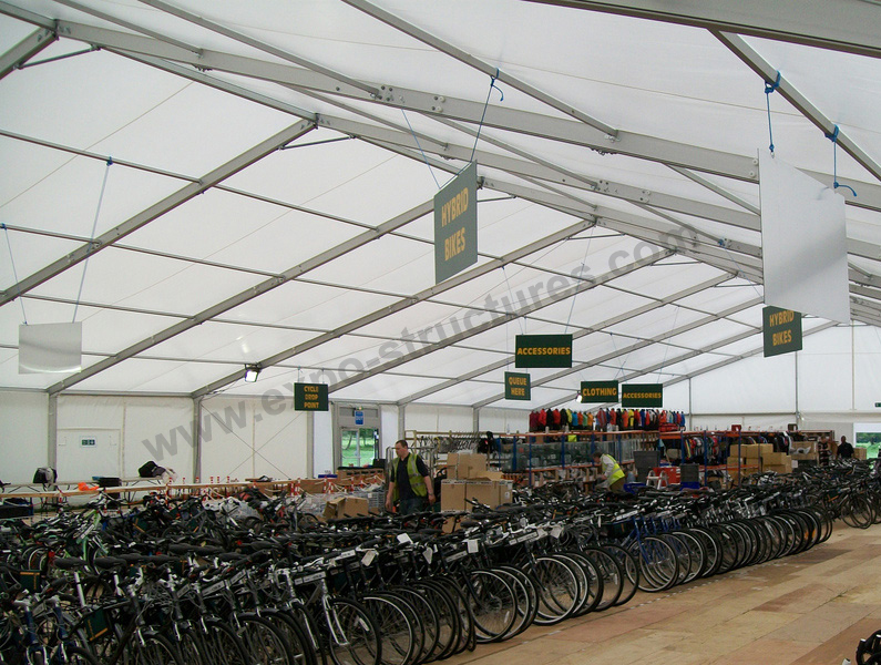 Temporary Commercial Storage Tent