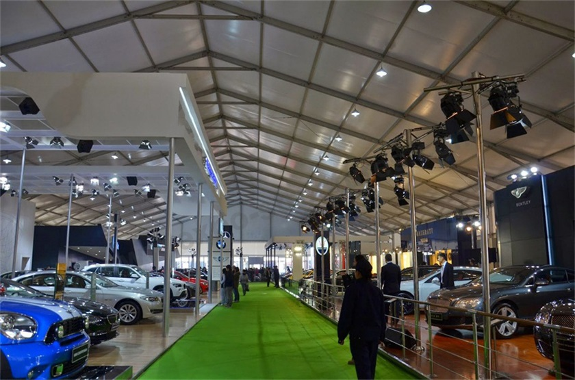 30x100m trade show exhibition tent for auto show