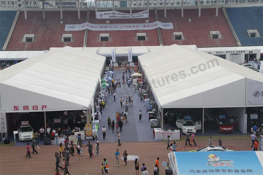 Second hand marquee car show tent for rent