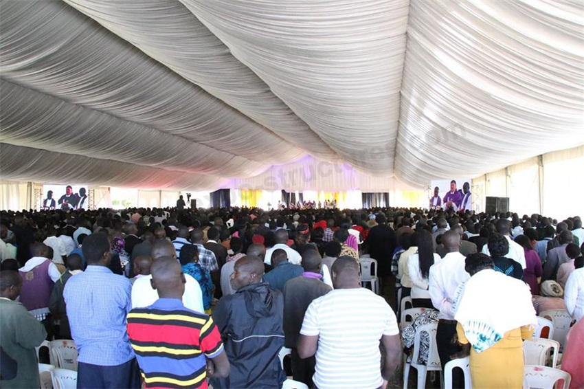 Outdoor Church Tent for 1000 capacity in Nigeria