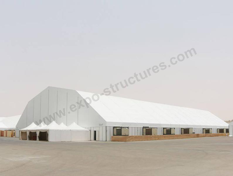 Huge Polygon Tent for Exhibition