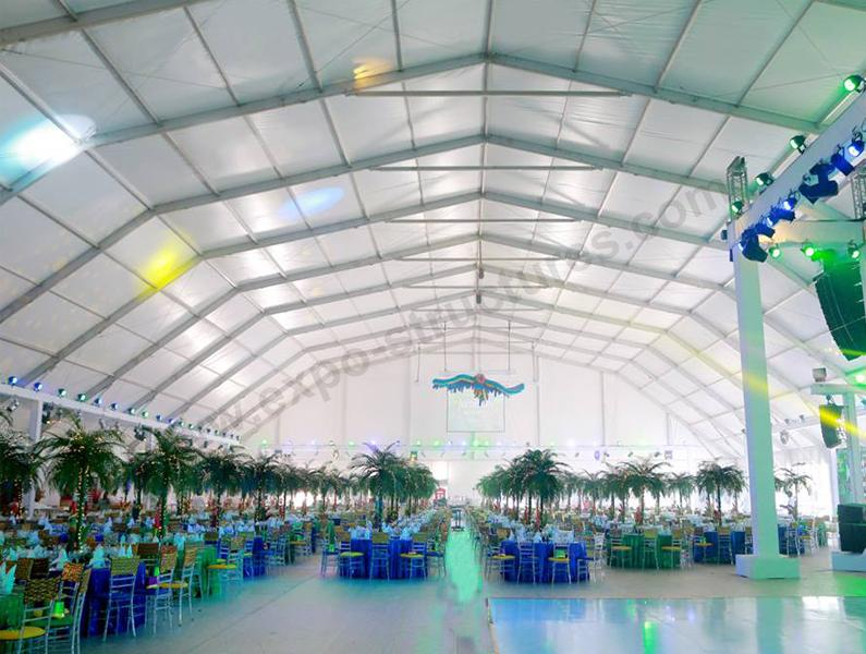 Polygon Tent for Party and Wedding