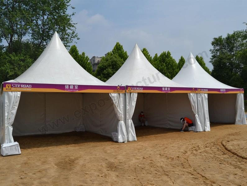 Pagoda Tent on Beach for Volleyball