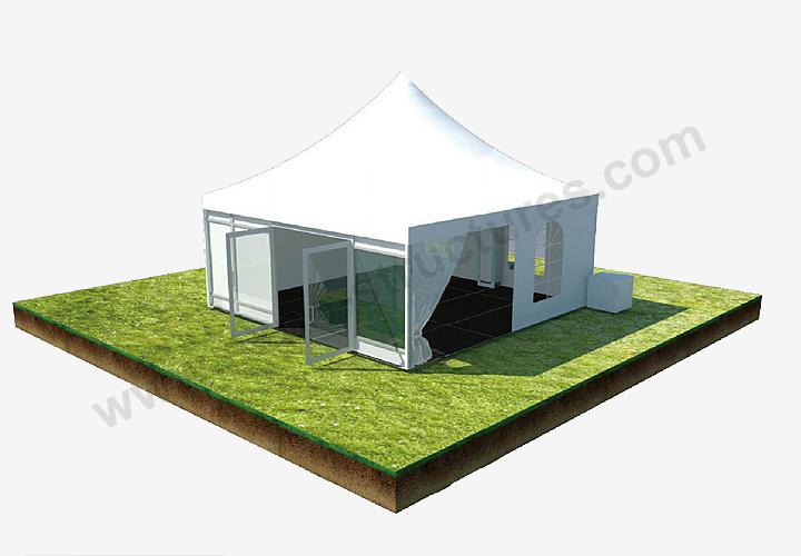 Party Pagoda High Peak Tent with lining