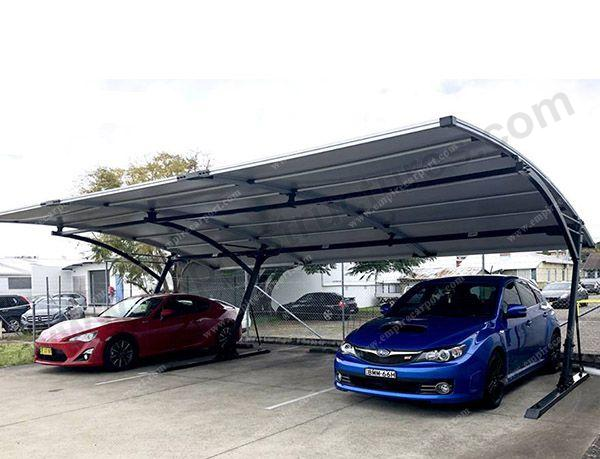 Modern Triple carport for 3 cars