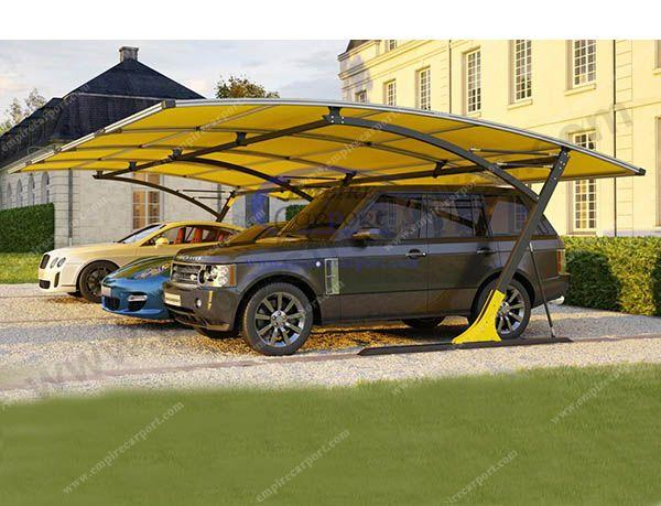 New Design Aluminium Carport for 4cars