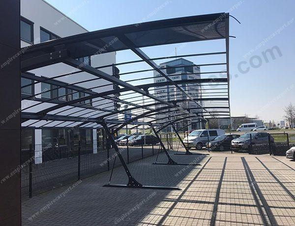 Multichannel Polycarbonate Roof Carport